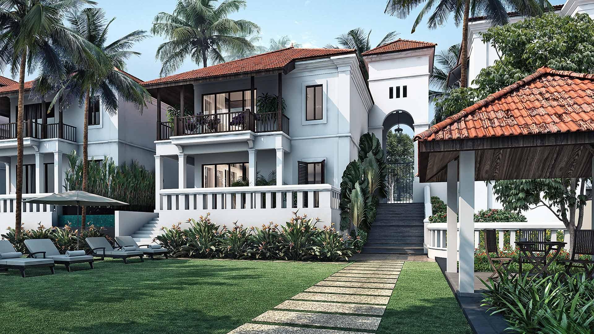 Sun Estates Batim Villa Batim Lake Velha Goa
