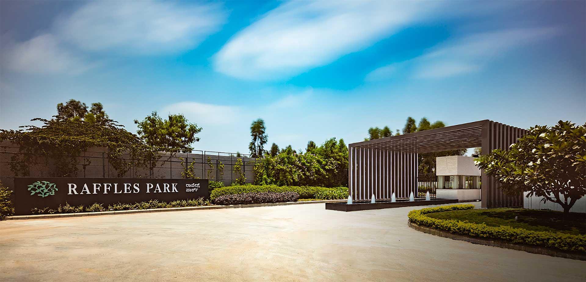 Villas For Rent Raffles Park Banglore