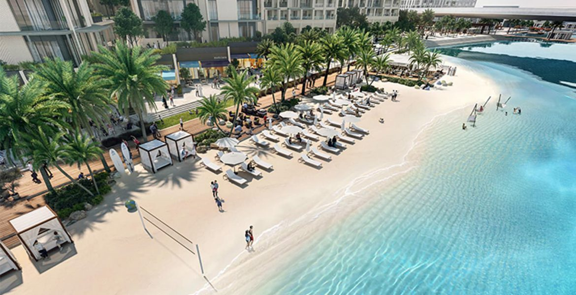 Emaar Breeze Creek Beach Dubai Creek Harbour