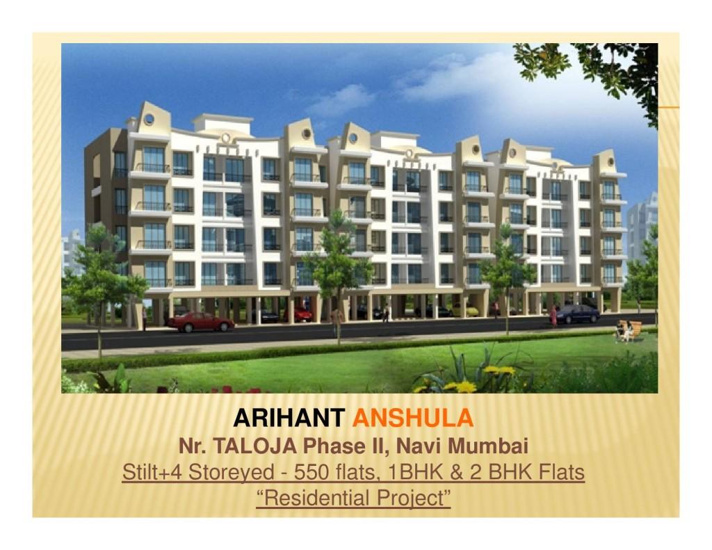 Arihant Anshula Taloja Phase 2 Navi Mumbai