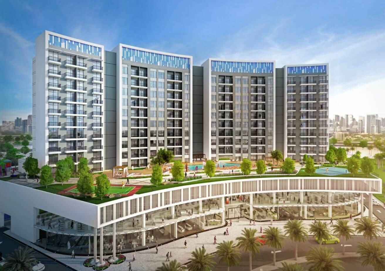 Danube Wavez Residence Liwan Dubai