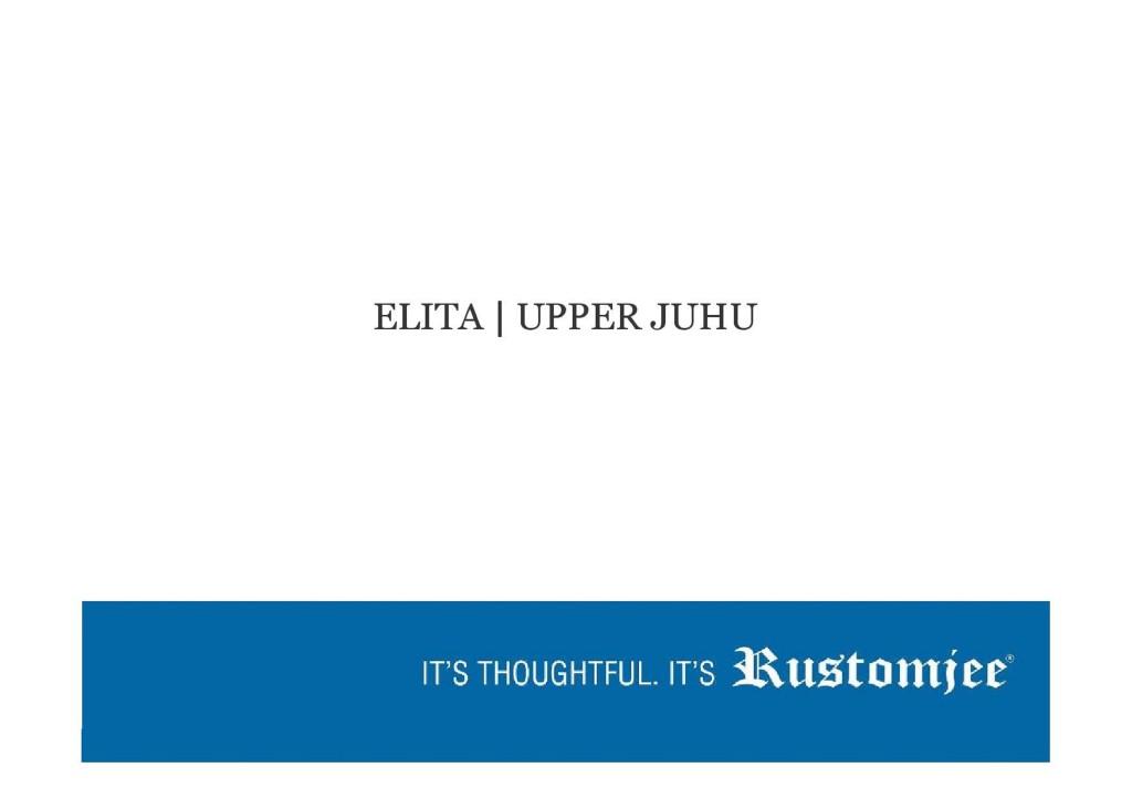 Rustomjee Elita Upper Juhu Mumbai